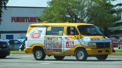 summer song (timp37) Tags: ice cream truck july indiana 2016 summer song lincoln highway 476 icecream yellow