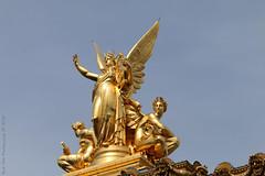 Detail @ Palais Garnier/Opera Garnier (Rick & Bart) Tags: paris france city urban rickvink rickbart canon eos70d palaisgarnier operagarnier sculpture historic