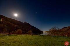 Good-bye Scotland... (Kasia Sokulska (KasiaBasic)) Tags: scotland highlands lake spring fujix landscape mountains travel sky stars night moon