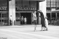 Palais_Vest 3 (Phasianii) Tags: palaisvest recklinghausen olympus em10 phasianii sw bw mono urbanus rusticus fassaden germany westfalen omd city street