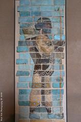 Frise des archers (Rick & Bart) Tags: paris france city museum louvre art history iran sculpture darius1st palaceofdarius1st archer rickvink rickbart canon eos70d persia