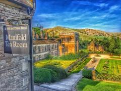 Manifold Tea Room. (deancolclough74) Tags: goldensun peakdistrict derbyshire italiangarden nationaltrust steppingstones thorpecloud dovedale ilam manifoldtearoom