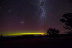 Milky Way & Aurora (Richard Landherr) Tags: tokina canon auroraaustralis milky milkyway launceston longexposure night sky stars canon70d tasmania