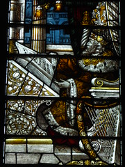 King David (Aidan McRae Thomson) Tags: lichfield cathedral staffordshire stainedglass window victorian kempe harp