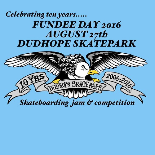 Don't forget, Fundee Jam is on at Dudhope skatepark in Dundee tomorrow (Sat 27th August).  Crazy to think the park has been there for over 10 years now!