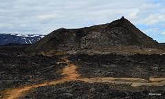 Leirhnjkur lava fields (alcoyote89) Tags: myvatn iceland volcano krafla lava caldera black