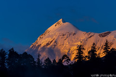 Trishul (vyshaks) Tags: travel vacation bluesky canon7d mounttrishul trishul himalayas indiahikes canon