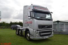 Volvo FH 'D.C. Morris Transport' reg WX60 LYK (erfmike51) Tags: volvofh artic truck lorry dcmorristransport swedefest2016