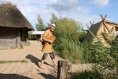 320 Haithabu WHH 21-08-2016 (Kai-Erik) Tags: geo:lat=5449119123 geo:lon=956703479 geotagged haithabu hedeby heddeby heiabr heithabyr heidiba siedlung frhmittelalterlichestadt stadt town wikingerzeit wikinger vikinger vikings viking vikingr huser house vikingehuse vikingetidshusene museum archologie archaeology arkologi arkeologi whh wmh haddebyernoor handelsmetropole museumsfreiflche wall stadtwall danewerk danevirke danwirchi oldenburg schleswigholstein slesvigholsten slesvigland deutschland tyskland germany bohlenwand reparatur zweitesskaldentreffen geschichtenerzhler musiker gruppesitram thomaspetersen jorgederwanderer urdvaldemarsdatter mittelalterlichemusikinstrumente skalden thorshammeralsamulettauszinngegossen 21082016 21august2016 21thaugust2016 08212016 httpwwwhaithabutagebuchde httpwwwschlossgottorfdehaithabu