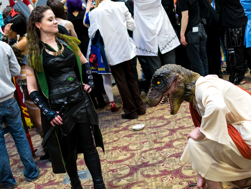 Detour2015-900 (YGKphoto) Tags anime minnesota costume cosplay jesus minneapolis raptor convention  sc 1 st  Fiveprime & The Worldu0027s Best Photos of raptor and thor - Flickr Hive Mind