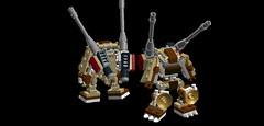 Bail - Artillery Type (phayze81) Tags: lego scifi artillery mecha mech mfz mobileframezero