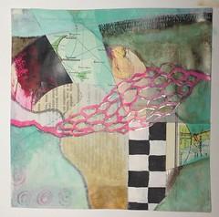 Skagen - Gteborg (Ellen Ribbe) Tags: blackandwhite abstract painting paper drawing mixedmedia papier abstrakt zeichnung malerei schwarzweis