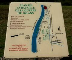 Castillon-la-Bataille (beery) Tags: france battlefield aquitaine gironde 1453 castillonlabataille hundredyearswar guerredecentans battleofcastillon