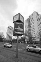 Königreich (Phil W Shirley) Tags: road street bw berlin germany king flats dildo eastberlin towerblocks königreich dildoking sexmachtschön