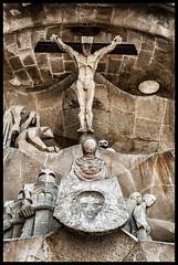 Sagrada Familia, Barcelona (tomekwysocki) Tags: barcelona travel red church familia temple photography spain nikon basilica espana d200 sagrada hiszpania