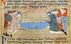 The burial of Noah (petrus.agricola) Tags: noah eve b adam london paradise wine flood library medieval illuminated creation cotton british abel romanesque ark manuscript iv pressing deluge harvesting cain claudius diluvian noachian