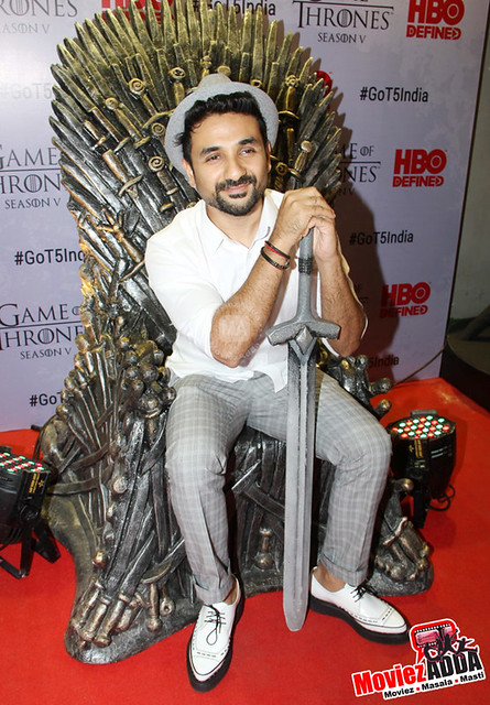 Celebs at Game Of Thrones Season 5