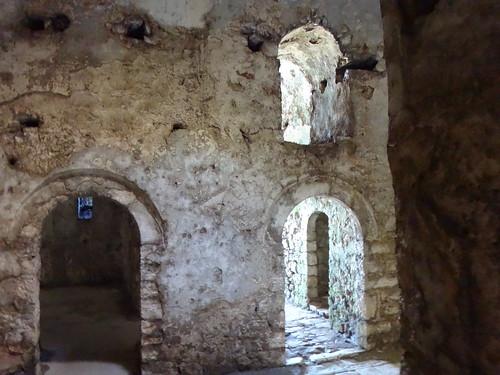 Albania. Bahía de Porto Palermo. Castillo triangular de Alí Pasha de Tepelena
