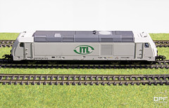 BR 285 CB Rail Traxx Diesellok (Escursso) Tags: scale train tren miniature diesel dcc trix rail railway locomotive cb 187 maquina locomotora 285 itl lokomotive bombardier traxx diesellok h0 22285 cbrail br285