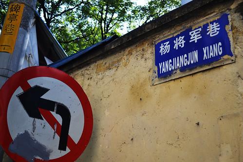 杨将军巷左转不能