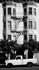 page & fillmore (eb78) Tags: sf sanfrancisco california ca blackandwhite bw monochrome architecture grayscale lowerhaight greyscale
