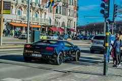 Lamborghini Gallardo (AJ.S PHOTOGRAPHY) Tags: summer sky sun cars car nikon sweden stockholm carbon dslr lamborghini gallardo d5300