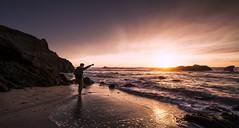 post-apocalyptic | pescadero, california (elmofoto) Tags: ocean california sunset seascape reflection beach coast sand nikon surf waves pacific salute pescadero d800 saluting 1635mm fav100 fav200 fav300 10000v sunblast fav500 nikond800 fav400 fav600 fav700 fav800 fav900 elmofoto lorenzomontezemolo sampost escaype sunsetforecasting