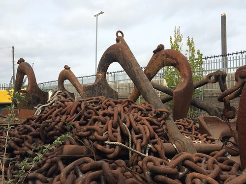 chains and anchors, Gravesend