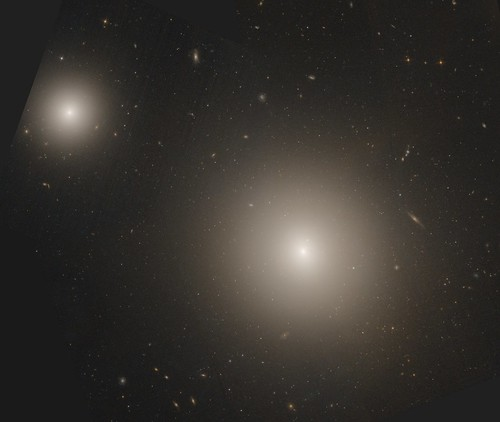 stars space clusters galaxy galaxies hubble elliptical hst hla globular ngc4278 ngc4283
