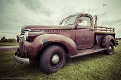 Vintage Chevrolet Truck (Scott Cartwright Photography) Tags: old classic canon classiccar grunge pickup historic chevy dodge fordescort scottcartwright shrewburyfreelancephotographer