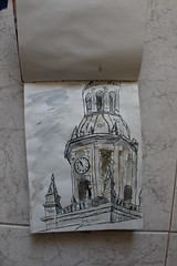 Torre del reloj (anikattel) Tags: castillaylen toro espaa spain zamora monument reloj watercolor sketch drawing draw drawins