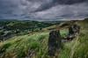 (Glen Parry Photography) Tags: glenparryphotography landscape d7000 nikon sigma todmorden westyorkshireyorkshire clouds sky rocks grass valley pennines sigma1020mm