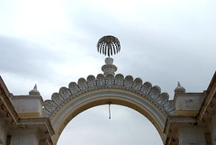 Cermonial Gates (VinayakH) Tags: india gardens royal palace hyderabad royalpalace nizam telangana chowmahallapalace