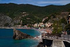 Monterosso Beach (Johnnyvacc) Tags: monterosso italy cinqueterre hillsidetowns seascape