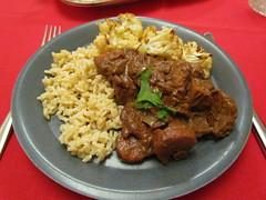 Seitan in Mole Sauce (dimsimkitty) Tags: veganomicon