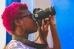 Flagra (Tai Chaves) Tags: woman canon hair photography purple flagra mulher girlpower fotografia negra cabelo nordeste fotgrafa identidade purpura negritude representatividade