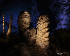 Lippy and Sawtooth (Alfred J. Lockwood Photography) Tags: newmexico nature landscape nationalpark limestone cave stalagtite cavern rockformation carlsbadcavernsnationalpark alfredjlockwood