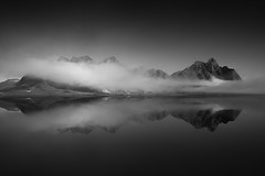 Lost in Time (vulture labs) Tags: vestrahorn mountain iceland clouds reflections vulturelabs