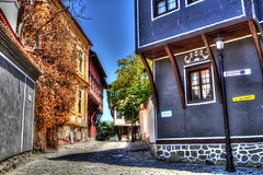 Beautiful streets of Plovdiv, Bulgaria (mmalinov116) Tags: street old city house colour colors town stones bulgaria plovdiv