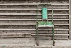 Iron Seat (Pieter Musterd) Tags: holland green canon pier chair groen scheveningen nederland canon5d nl stoel musterd pietermusterd canon5dmarkii pmusterdziggonl