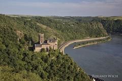 Dreiburgenblick - Burg Katz (Rolandito.) Tags: castle st river germany deutschland alemania fluss rhine rhein allemagne germania katz burg sankt goarshausen dreiburgenblick