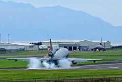 KC-10A Extender landing at Prestwick (EGPK) Scotland (Allan Durward) Tags: pik egpk prestwick glasgow scotland prestwickairport prestwickscotland glasgowprestwick kc10a extender tanker airtoair dc10 douglas mcdonnelldouglas usaf kc10aextender 830081