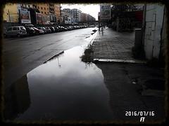 Pozzanghera (triziofrancesco) Tags: water pozzanghera acqua strada puddle bari road rain pioggia
