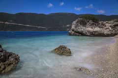 Vassiliki Cove 2 (Debs Bowness Photography) Tags: bluesea mediterranean greece vassiliki cove clearsky waves rocks greekisland