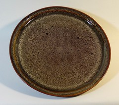 Dinner Plate (Neil Daly *) Tags: tenmoku temoku plate dinnerplate