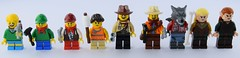 Lego scout adventure (Alex THELEGOFAN) Tags: lego scout werewolf elf legolas tauriel chief fedora girl boy kid hammer marshmallow bag the hobbit lord of ring nail legography