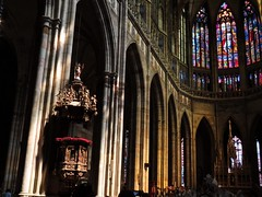 (rociogarv) Tags: travel turist architecture contraste luz light mosaics mosaicos catedral cathedral stvituscathedral praha prague praga