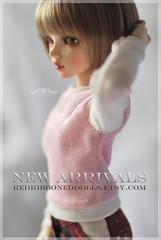 NewArrivals (Red Ribboned Dolls) Tags: bjd abjd msd mnf minifee slimmsd redribbon redribboneddolls chloe auri dollclothes doll dolls dollfie handmade etsyshop