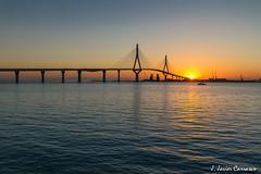 Cádiz (AvideCai) Tags: avidecai cádiz agua amanecer mar puente reflejos sigma1020