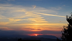 West Quantoxhead - Sunset 28th August 2016 (David Cronin) Tags: westquantoxhead somerset sunset northhill minehead